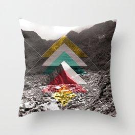 Sojourn series - Fox Glacier  Throw Pillow