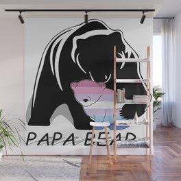 Papa Bear Bigender Wall Mural