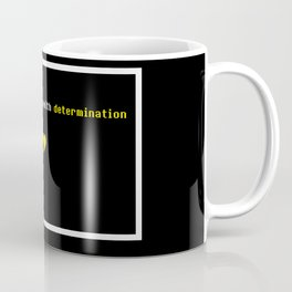 Your love fills me with determination Undertale Coffee Mug