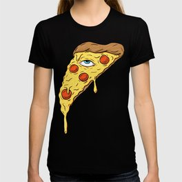 All Seeing Pizza T-shirt