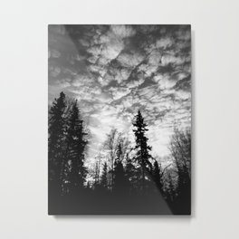 Blackened Sunrise Metal Print