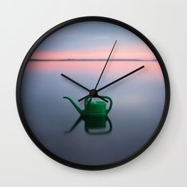 Watering Can Wall Clock