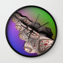 Taj Mahal Shell Wall Clock