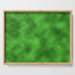 Vivid Green Foil Smooth Metal Texture Festive / Christmas Serving Tray
