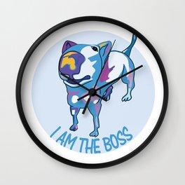 I am the Boss Wall Clock