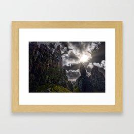Old Man Of Storr - Isle Of Skye - Scotland Framed Art Print