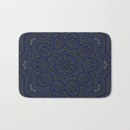 Marrakech Mandala With Stratos Backdrop Bath Mat