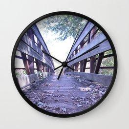 Path less travelled Wall Clock