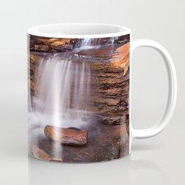 Small waterfall in the Hancock Gorge, Karijini NP, Western Australia Coffee Mug