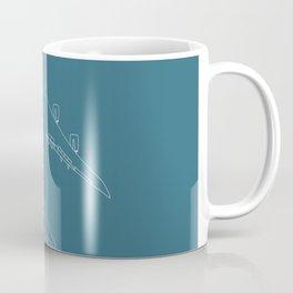 Boeing 747 8 Queen of the sky Coffee Mug