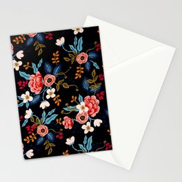 FLORAL--PATTERN Stationery Cards