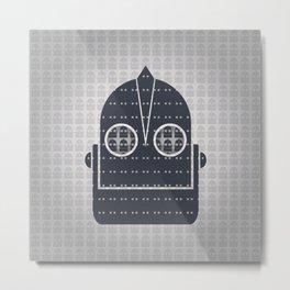 Pattern of Giant Robot Metal Print