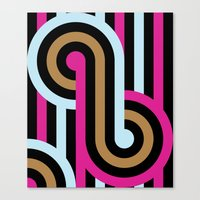 infinity Canvas Prints featuring Infinity by Michelle Nilson