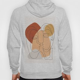 Abstract Faces 27 Hoody