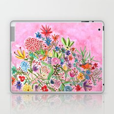 HAPPY FLOWERS Laptop & iPad Skin