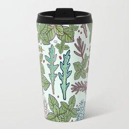 herbs pattern Travel Mug