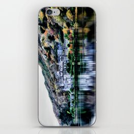 A Castle in Reflection iPhone Skin