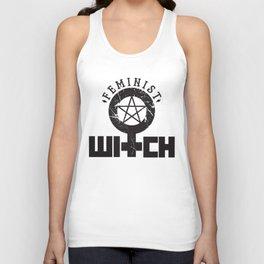 Feminist Witch Unisex Tank Top