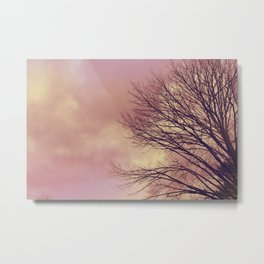WARM TREES _ keep the warm from the colors of fall Metal Print