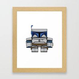 Episode II: Attack of the Clones - Jango Fett Framed Art Print