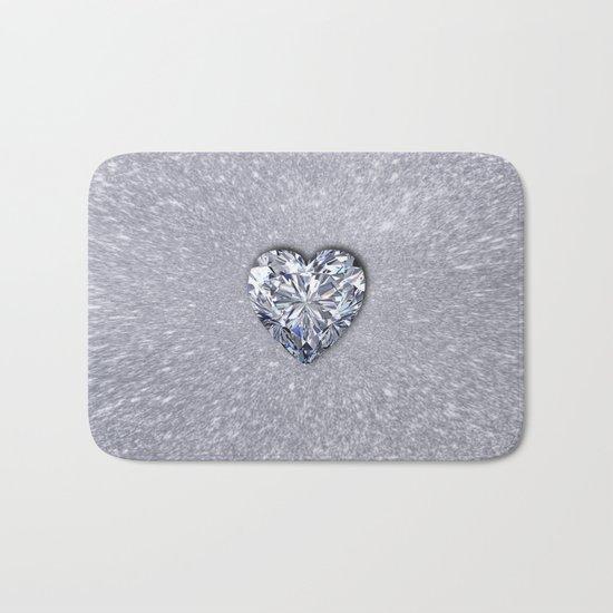 Diamond Love Bath Mat