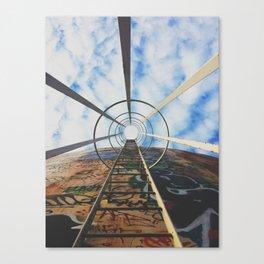 Up The Rabbit Hole Canvas Print