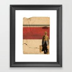 RAIN// Framed Art Print