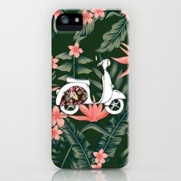 Vespa iPhone Case