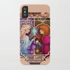 Let Me In - quote version iPhone X Slim Case