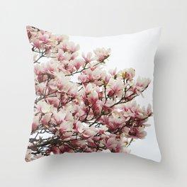 Magnolias II Throw Pillow