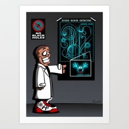Mass Effect Too! Art Print