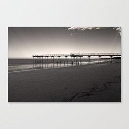 Way to sea Canvas Print
