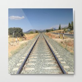 Train in Spain Metal Print
