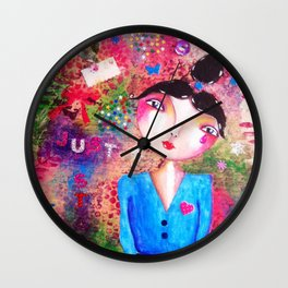 Just stay Wall Clock