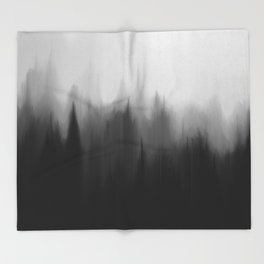 Fog Dream Throw Blanket