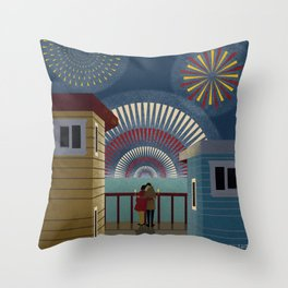 Make it pop like champagne - New Year Throw Pillow