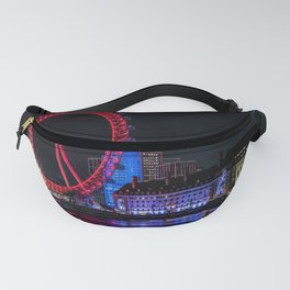 The London Eye on The River Thames Fanny Pack