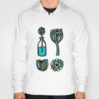 succulents Hoodies featuring Succulents by Marginalink