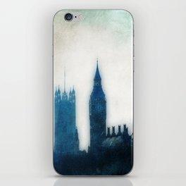The Many Steepled London Sky iPhone Skin