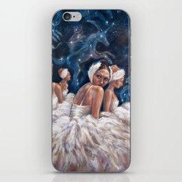 Ballerina Constellation iPhone Skin
