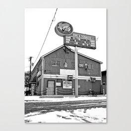South Tacoma Pipe & Tabacco Canvas Print