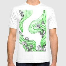 FANTASIA VERDE Mens Fitted Tee White MEDIUM