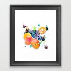 Cosmic Mango Framed Art Print