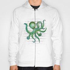 Green Octopus Hoody