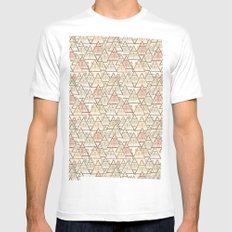 Pattern Houses White MEDIUM Mens Fitted Tee