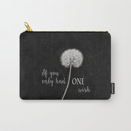 One Wish Carry-All Pouch