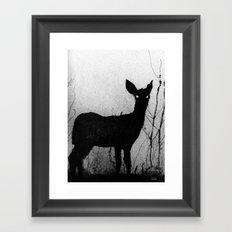 Whitetail - Fawn Framed Art Print