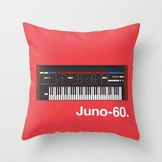 Juno-60 Throw Pillow