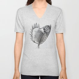 Venus Fly Trap Unisex V-Neck