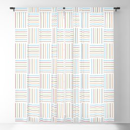 Bright and Light Festive Weave Blackout Curtain
